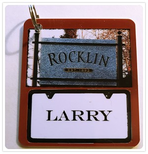 Rocklin City Tag